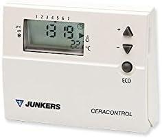 Junkers REGULACION Y CONTROL - Termostato programacion digital ...