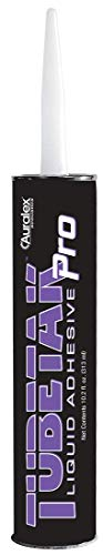 (Auralex Acoustics Tubetak Pro - Studio Foam Liquid Adhesive, 1 Tube (TTPRO))