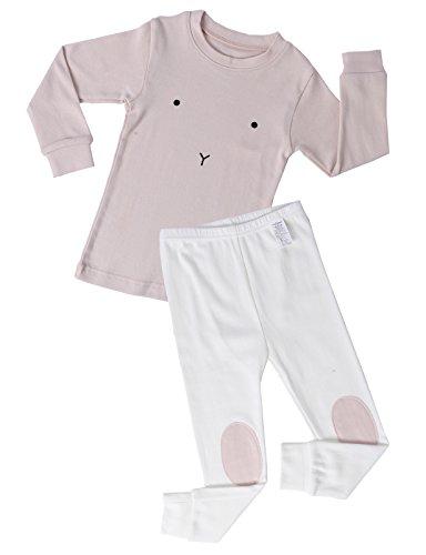 UniFriend Premium Little Girls,Boys 2 Piece Pajama Set US 24M/Asia 100 (KGSR05)]()