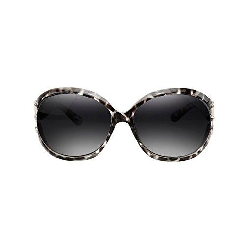 Sonnenbrille Female Drive Anti Glare Leopard Print Polarisierte Sonnenbrille Anti-UV 3NtXgfV