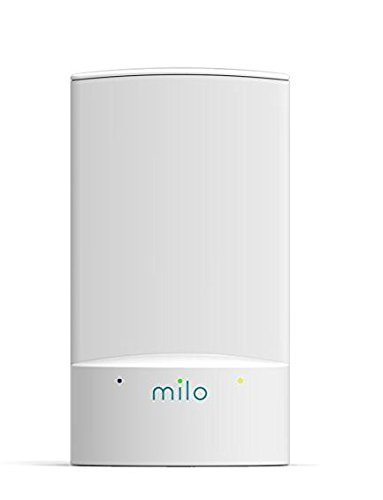Milo WiFi System (1-Pack) - Hybrid Mesh Network - Replace Home WiFi Extenders and Boosters - Coverage up to 1,250 Sq. Ft. - Apartments or Add-On to Existing Milo System by MILO