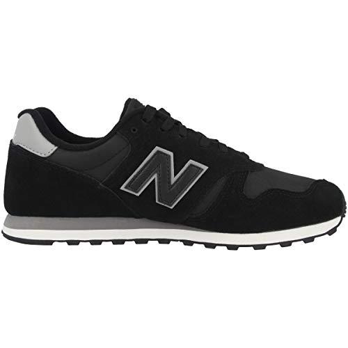 New Balance Herren 373 Sneaker Black-marblehead (Ml373blg)