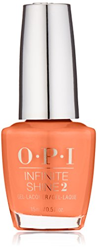 OPI Infinite Shine, Santa Monica Beach Peach, 0.5 fl. (Opi Peach)