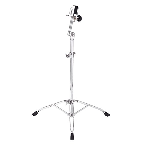 Meinl Percussion THBS Headliner Series Double Braced Bongo Stand, Chrome (Meinl Stand)