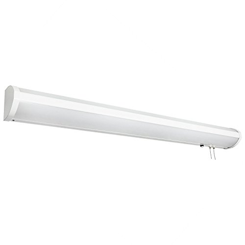 Sunlite LFX/BL/22W-44W/40K LED Overbed Wall Mounted Bed Light Fixtures, Cool White, 48