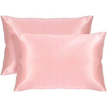 Amazon Com Veeyoo Silky Satin Pillowcase For Hair And