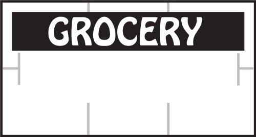 Garvey Label, White/Black Grocery RC (1910-85100)