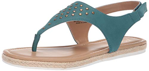 Aerosoles A2 Women's BASS Drop Sandal, Turquoise, 7.5 M US