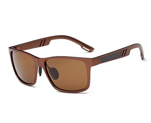 FlowerKui protectoras libre polarizadas gafas para completa Gafas conducir retros unisex un de que ciclo Brown aire de Gafas las Light sol UV400 al rvPfxrna