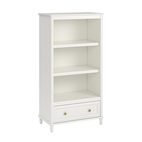 Little Seeds Piper Bookcase, Cream (Girls Furniture Shelf)