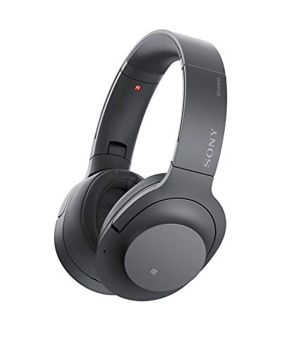 Sony WH-H900N h.ear on 2 Wireless Over-Ear Noise Cancelling High Resolution Headphones (Black/Grey)