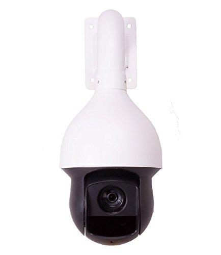 Montavue MTZ2250-IR IP PoE Pan-Tilt-Zoom (PTZ) Speed Dome Camera w/ 25x Zoom, 500ft of IR Night Vision, 1080P HD Resolution & Color Night Optics by Montavue