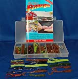 ALEX LANGER'S FLYING LURE FISHING LURE KIT-OVER 100 PIECES!- AS SEEN ON TV