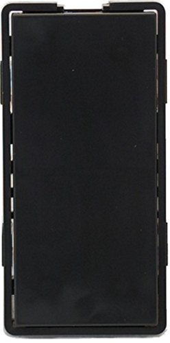 Bk Black Dimmers Dimmer (Simply Automated ZS11-BK Single Faceplate,)