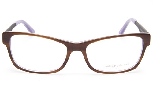 NEW PRODESIGN DENMARK 1728 c.5014 BROWN EYEGLASSES FRAME 55-16-140 B35mm - Prodesign Glasses