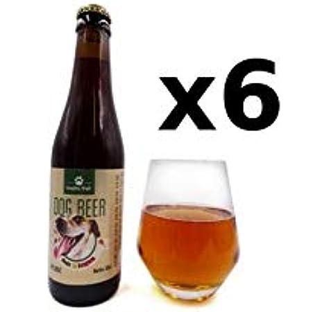 Resto Pet - Dog Beer Chicken Cerveza para Perros 33 Cl Pack 6 Unidades: Amazon.es: Productos para mascotas