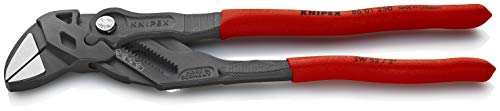 KNIPEX Tools 86 01 250 Pliers Wrench with Black Finish, 10-Inch ()