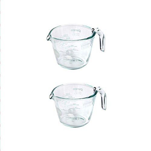 White Pyrex Glass - 8