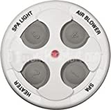 Jandy Spa Side Remote 4 Function 100 ft. White 7441