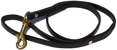 31RsoChLJ%2BL - Signature K9 Standard Leather Leash