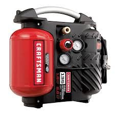 Craftsman AirbossTM 1.2 Gallon Oil-less Air Compressor and Hose Kit. by Craftsman