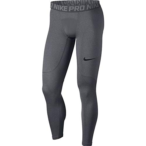 Nike Pro Men's Training Tights (Carbon Heather, M) by Nike (Image #7)