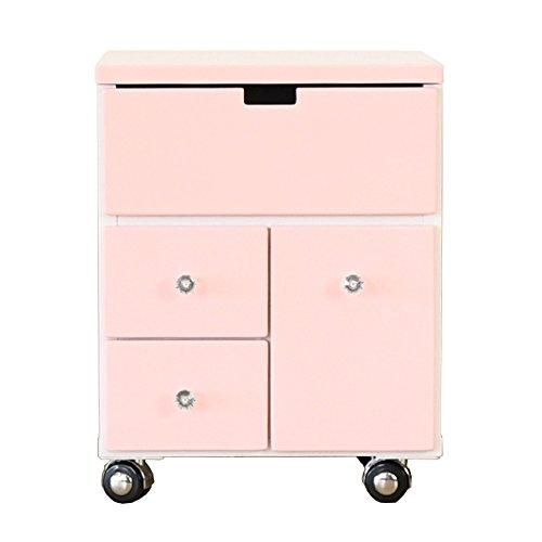 パルル コスメ ボックス (ピンク) B07DSWY7VR ピンク