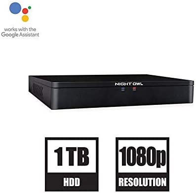 Night Owl 8-Channel 1080p HD DVR with 1 TB Hard Drive DVR ONLY, Model Number DVR-C20X-81, Compatible with Spotlight Cameras CAM-2PK-C20XL or CAM-4PK-C20XL