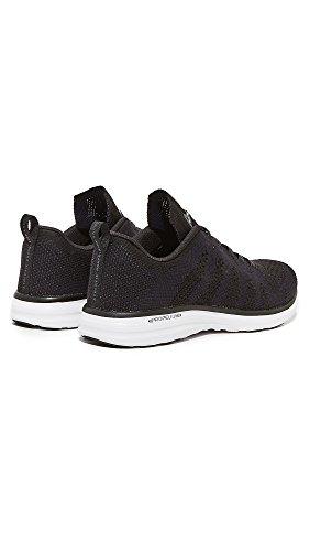 Apl: Laboratori Di Propulsione Atletica Mens Cashmere Techloom Pro Running Sneakers Black / Navy