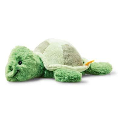 """Steiff Tuggy Turtle 11"""" Soft Cuddly Friends Stuffed Animal"""