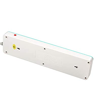 iBELL SG505X 5 Way Spike Guard Extension Cord with Individual Switch,LED Indicator,Power 2500W,10A ABS, White 14