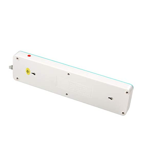 iBELL SG505X 5 Way Spike Guard Extension Cord with Individual Switch,LED Indicator,Power 2500W,10A ABS, White 7