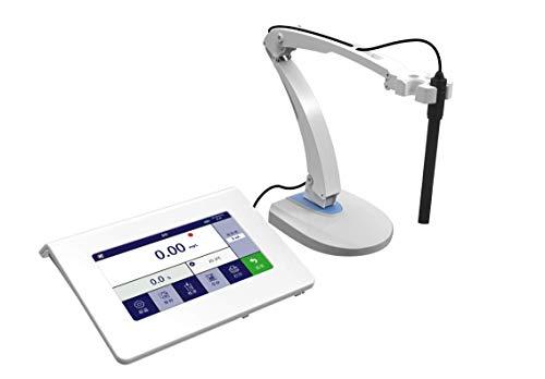 WELLISH P12 Desktop Industrial Dissolved Oxygen Meter Kit, Auto Compensation for Temperature, Air Pressure and Salinity, GLP Data Management