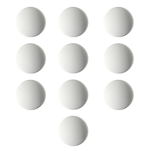 10PCS White Door Stops Rubber Wall Protectors Guards Self Adhesive Door Handle Bumper Stoppers by LOCHI
