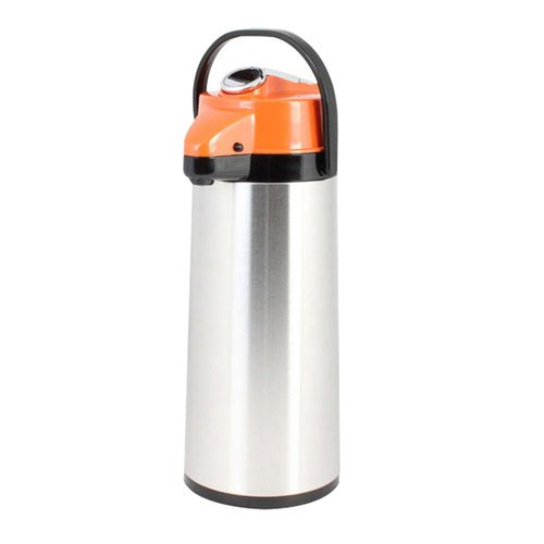 (Thunder Group ASLG022D 2.2 Lt / 74 oz Glass Lined Airpot - Decaf)
