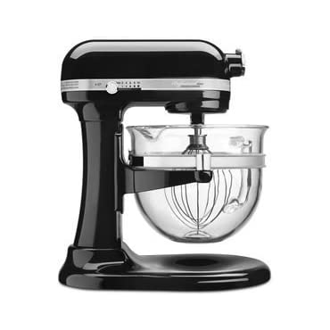 KitchenAid KSM6521XOB Onyx Black Professional 6500 Design Series bowl-lift Stand Mixer