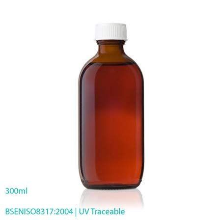 Pharmaceutical Packaging Bottles & Caps - Capped Glass Bottles (300ML X 24)