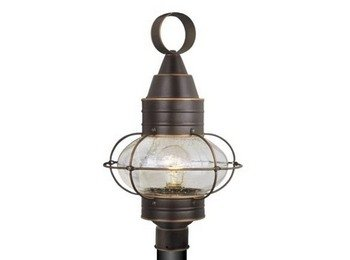 Vaxcel OP21835BBZ Chatham 13-Inch Outdoor Post Light, Burnished Bronze