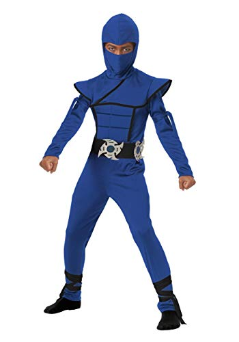 California Costumes Stealth Ninja Child Costume (Blue), Large -