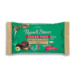 Russell Stover Sugar-Free Dark Choc Mix Laydown Bag, 10 Ounce