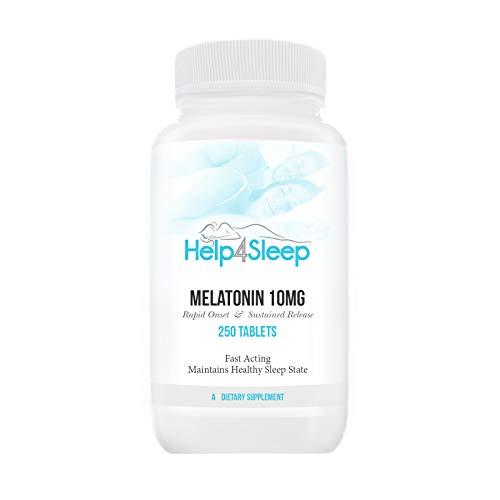 Melatonin 10mg Sustained Release - 250 - Sustained 3 Melatonin Release