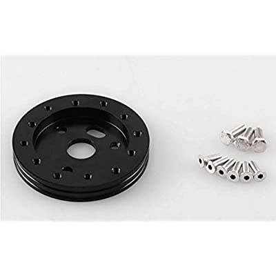 "Anngo 0.5"" Hub for 6 Hole Steering Wheel to Fit Grant APC 3 Hole Adapter Boss Kit Black: Automotive"