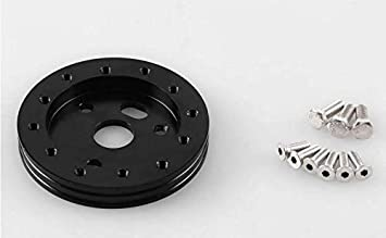"""Black 0.5/"""" Hub For 6 Hole Car Steering Wheel To Fit Grant APC 3 Hole Adapter"""