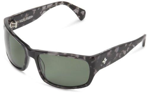 King Baby Sunglasses Tortoise Spectre II E15-0015 Polarized Wrap Sunglasses,Grey & Black,One - Glasses Spectre