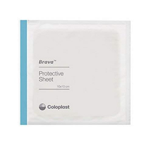 (Brava Protective Sheets [BRAVA SKIN BR LTX FR 4X4IN] (BX-10))