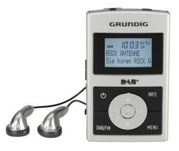 Grundig Micro 75 Taschenradio (DAB+ Tuner, RDS) inkl