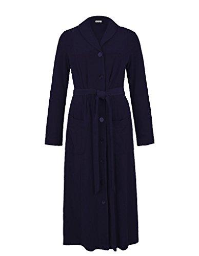 Rosch Homewear Peignoir - Bleu Marine 1884004 50 FR/22 UK