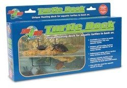 (ZooMed Floating Turtle Dock 15 Gallons Medium by Zoo Med)