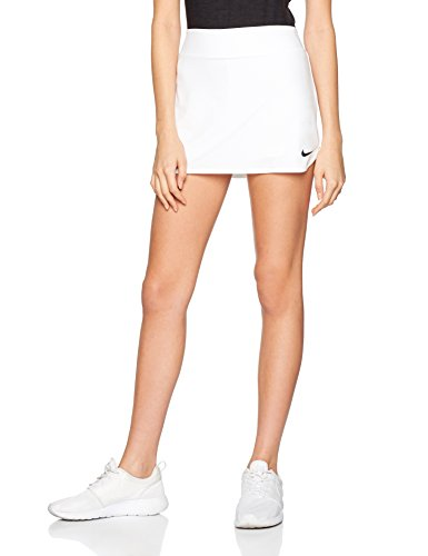 NIKE Women's Pure Skirt White/Black Skirt MD