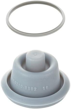 frei biegbar Silikon-Material vier Schnallen 1 St/ück Gummi ohne Verformung #N//V Dichtungsring f/ür elektrischen Schnellkochtopf